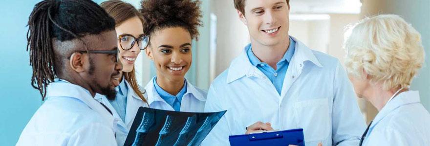 Parcours d'études médicales